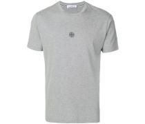 T-Shirt mit Kompassmotiv
