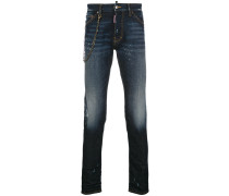 Cool guy chain trim jeans