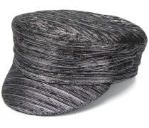 'Evie' Metallic-Mütze