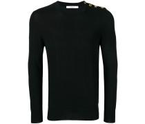 Pullover mit Schulterknöpfen