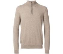 Kaschmir-Pullover mit Reißverschluss - Unavailable