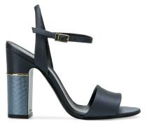textured-heel sandals