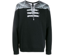 Wings print sweatshirt