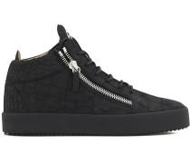 Kriss Croco hi-top sneakers