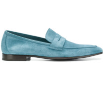 pointed toe slip-on loafers