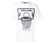 T-Shirt mit Basketball-Print