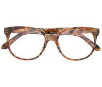 Gemusterte Brille