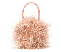 Zadie Feather Tote
