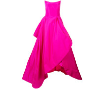 strapless fitted gown