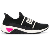 Sneakers mit elastischem Einsatz