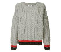 Pullover mit Kontrastborten