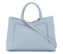Handtasche mit Seitenfalten