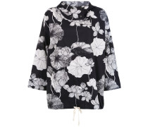'Floral Lotus' Oversized-Jacket