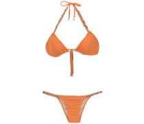 Verzierter Triangel-Bikini