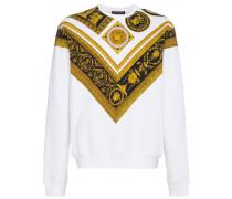 Sweatshirt mit Barokmuster