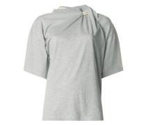 T-Shirt mit Schaldetail