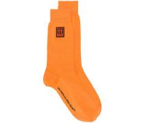 Socken mit Logo-Patch