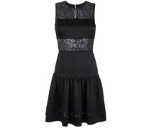 sequin panelled dress