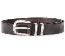 worn-effect belt