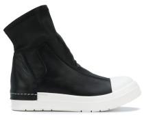Sock-Sneakers mit Kontrastkappe