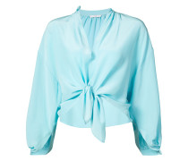 bow-tied cropped shirt - Unavailable