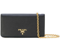 logo plaque clutch