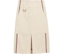 Stripe Detail Cotton A-line Skirt