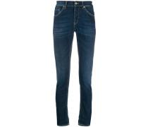 'George' Jeans mit schmalem Bein
