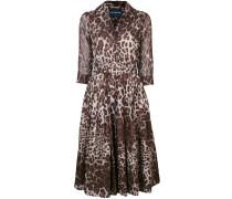 Audrey leopard print dress