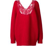 Lingerie V-neck Sweater