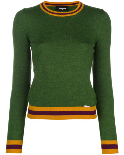 boy scout contrast knit