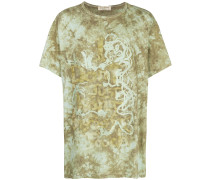 tie-dye short-sleeve T-shirt