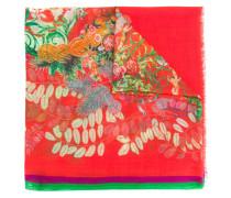 Kaschmir-Schal mit Blumenmuster