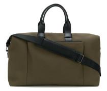 'Weekender' Reisetasche mit Ledereinsätzen