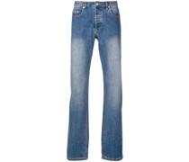 A.P.C. Ausgeblichene Bootcut-Jeans