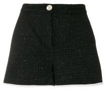 Kurze Tweed-Shorts