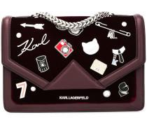'K/Klassik Pins' Handtasche