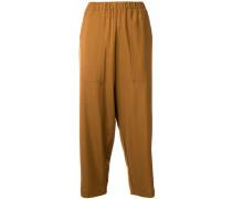 Cropped-Hose mit elastischem Bund