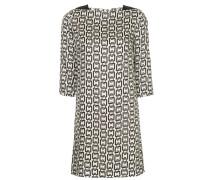 Kleid mit Ketten-Print