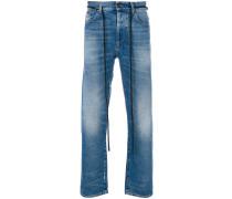 Skinny-Jeans mit Logo-Streifen