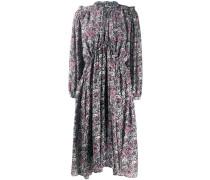Ausgestelltes Kleid mit Paisley-Print