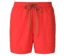 Zebra logo swim shorts