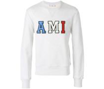"""Sweatshirt mit """"Ami""""-Patches"""
