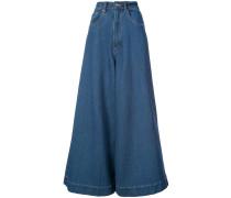 Jeans mit weitem Bein - Unavailable