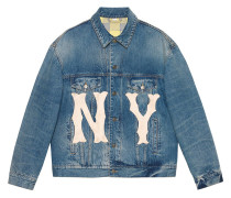 Jeansjacke mit NY Yankees™-Patch
