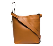 'Piombino' Schultertasche aus Leder