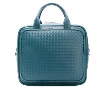 Reisetasche mit Intrecciato-Muster