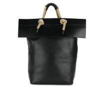 Handtasche mit Seil-Henkel