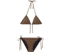 'Monogram' Triangel-Bikini