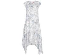 Drapiertes Kleid mit Print